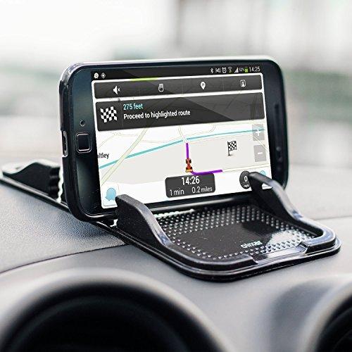 Sticky Cell Phone Holder for Car - Dash Holder / Dashboard Mat – Phone Holder - Olixar Smartphone Gel Pad - Non Slip Mat Key Holder - Washable Car Gel Mat (Plastic Tree Cell)