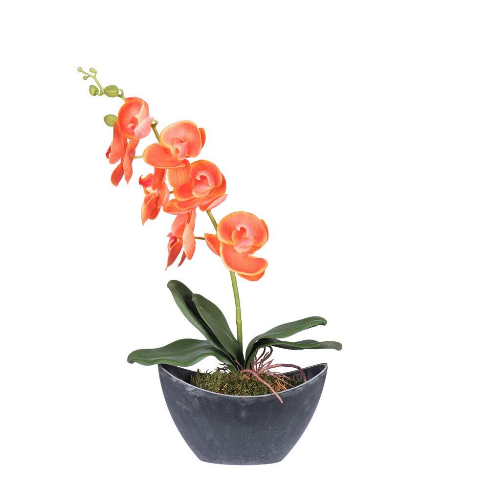 Vickerman F12214 Orange Orchid Everyday Floral