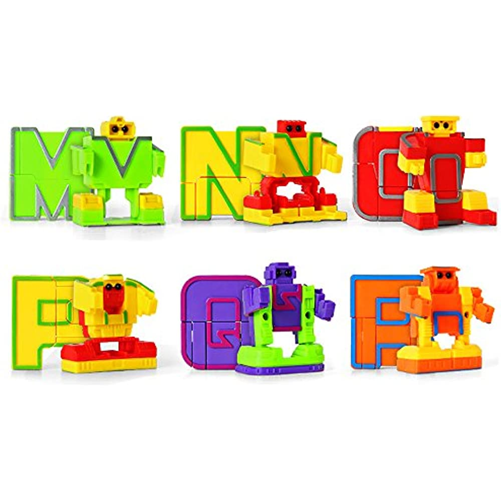 MiYou Alphabet Robots Toy For Kids ABC Learning Education ...
