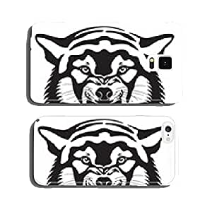 Wolf head illustration cell phone cover case iPhone6 Plus