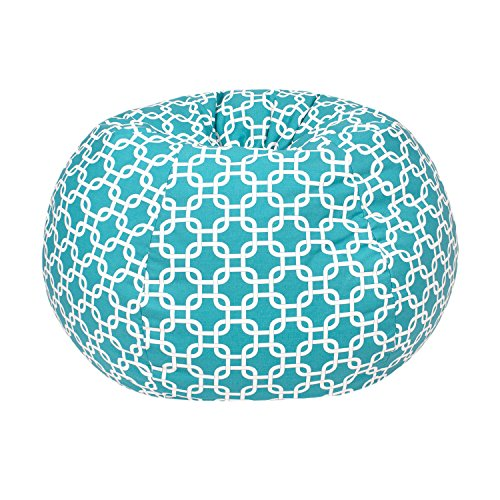 Gold Medal Bean Bags Small/Toddler Gotcha Hatch Pattern Print Bean Bag, Turquoise
