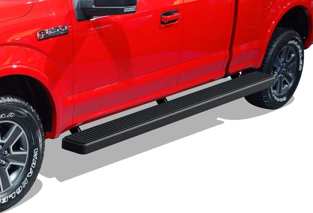 2017-2019 Ford F-250//F-350 Super Duty APS iBoard Running Boards 5 Custom Fit 2015-2019 Ford F150 Super Cab Pickup 4-Door Nerf Bars   Side Steps   Side Bars
