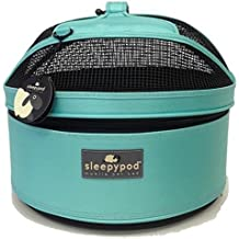 Sleepypod Mini Mobile Pet Bed, Robin Egg Blue