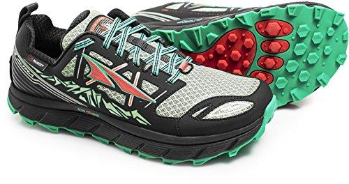 Altra Footwear Women's Lone Peak 3.0 Neoshell Trail Running Shoe,Black/Mint,US 5