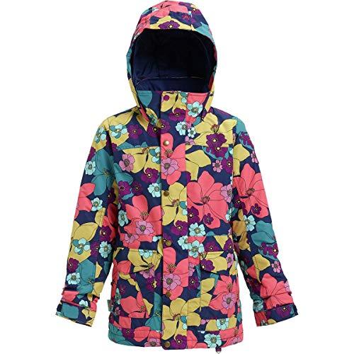 Burton Girls Elstar Parka Jacket, Flowers!, Medium