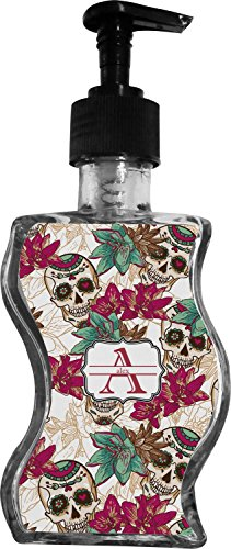 Sugar Skulls & Flowers Wave Bottle