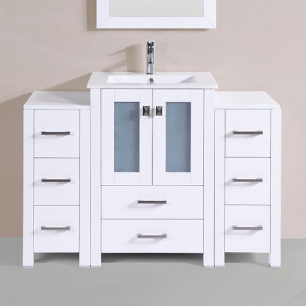 Outlet Pacific Collection Newport 48 In. Single Bathroom Vanity