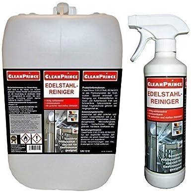 Limpiador de Acero Inoxidable 2.500ML (2,5 Litros) Producto Limpieza Campana Extractora Cocina Barandilla Refrigeradores Frentes Microondas los Balcones Pasamano Buzón Aluminio: Amazon.es: Alimentación y bebidas