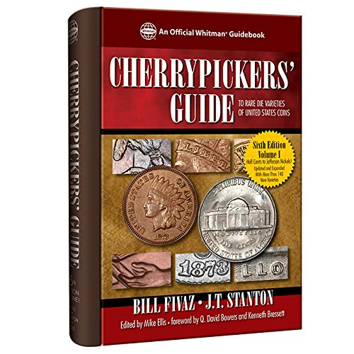 Cherrypickers' Guide to Rare Die Varieties of United States Coins, Sixth Edition, Volume I - Gold Washington Coin Set