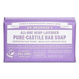 Bar Soap, Organic, Lavender, 5 oz ( Pack of 2 )