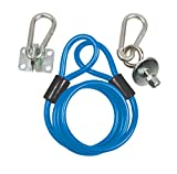 BK Resources Gas Hose Restraining Cable Kit with Mounting Hardware, Fits 36 Inch Long Hose