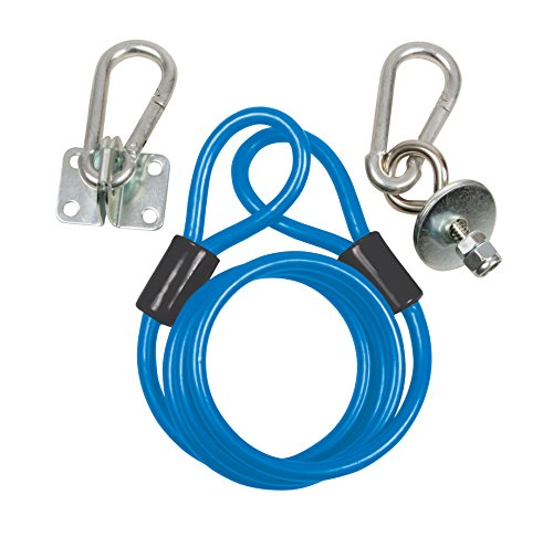 BK Resources Gas Hose Restraining Cable Kit with Mounting Hardware, Fits 36 Inch Long Hose ()