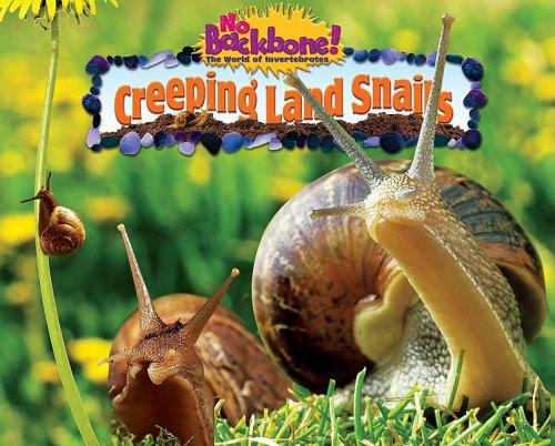 Read Online Creeping Land Snails (No Backbone! The World of Invertebrates) PDF