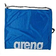 Arena - Bolsa de natación para adultos de malla, color azul