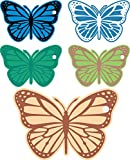 Digitally Printed Butterfly Hang Tag Set Assorted Paper Girl's Toys Hanging Tag