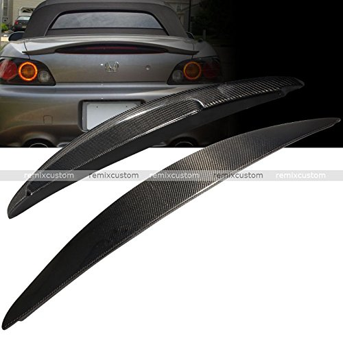 Remix Custom for 00-09 Honda S2000 AP1 AP2 Carbon Fiber Rear Trunk Lip Spoiler Wing