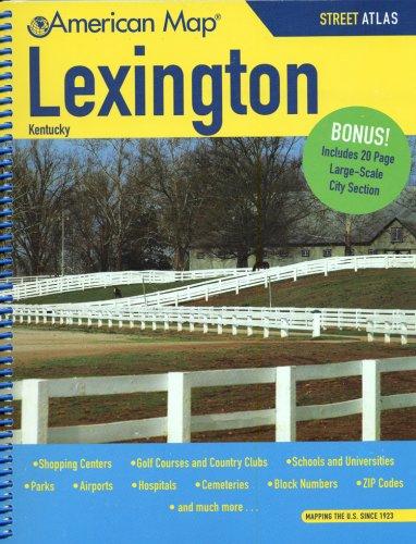 American Map Lexington Kentucky