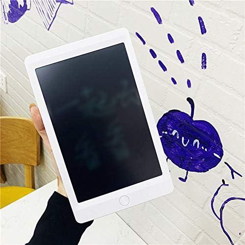 LKJASDHL 8.5インチLCDタブレットLcdライト電子小さな黒板子供落書き手描きプレート厚手の手書きボードLcdライティングタブレット (色 : ホワイト)
