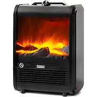 NEWTECK Calefactor Eléctrico Chimney Termoventilador, 1500W, Estufa Cerámica Efecto Chimenea Portátil Bajo Consumo,…
