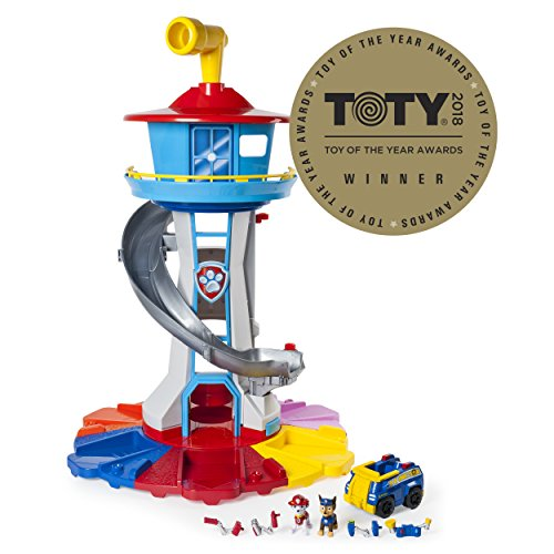 Nickelodeon Paw Patrol - My Size Lookout Tower with Exclusive Vehicle, Rotating Periscope and Lights and Sounds by Nickelodeon