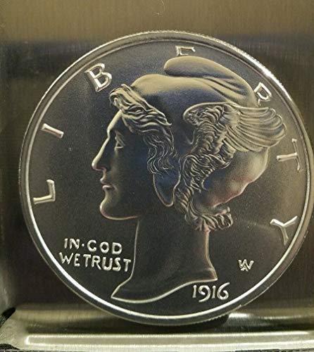 1916 D Mercury Dime Silver