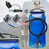 LIQUIDPACKPRO Hydration Bladder Water Bag Reservoir 3 Liter...