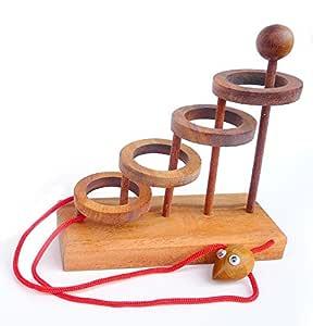 LOGICA GIOCHI Art. Liberar el Ratoncito - Rompecabezas de Cuerdas ...