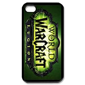 Good Quality Phone Case With HD World Of Warcraft Images On The Back , Perfectly Fit To iPhone 4,4S