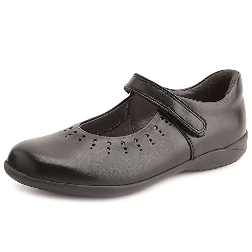 22783aeb Zapatos De Colegio Infantil Startrite Mary Jane Girls 13 E Negro:  Amazon.es: Zapatos y complementos