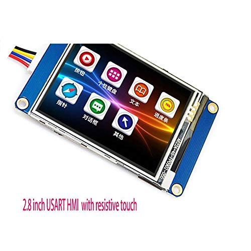 2.8 inch USART HMI 320 240 TFT Touch LCD Module Serial Drive with resistive Touch
