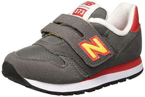 pour Nbkv373top de Mixte bébé Balance New Chaussures Enfant Grey Orange Jaune Marche 6FX5pq