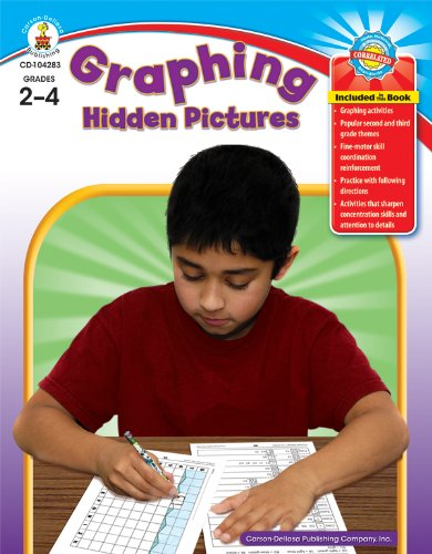 Graphing Hidden Pictures, Grades 2-4 (Carson Dellosa Graphing)