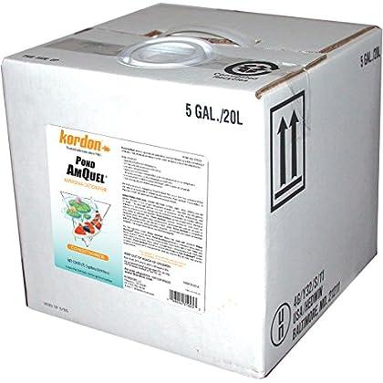 Image of Pet Supplies KORDON #31025 Pond AmQuel Liquid for Aquarium, 5-Gallon