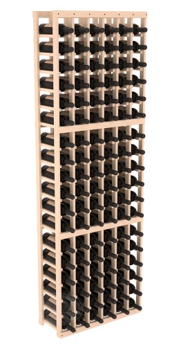 Wine Racks America Ponderosa Pine 6 Column Wine Cellar Kit. 13 Stains to Choose From!