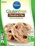 Pillsbury Gluten-Free Chocolate Chip Premium Cookie Mix, 17.5 Ounce (Pack of 12)