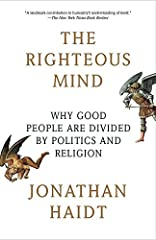 """New York Times BestsellerIn this """"landmark contribution to humanity's understanding of itself"""" (The New York Times Book Review) social psychologist Jonathan Haidtchallenges conventional thinking about morality, politics, and religion..."""