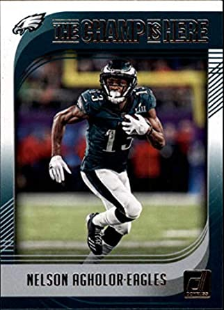 4e03982392e 2018 Donruss Champ is Here #6 Nelson Agholor Eagles Football Card NM-MT
