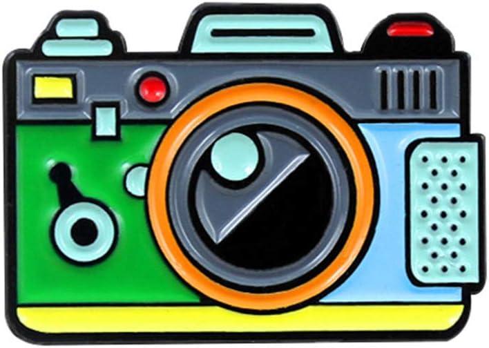 FlYHIGH Broche, Dibujos Animados Lindo Colorido Forma de la cámara ...