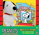 Peanuts - Best Friends Look and Find Book and Cuddly Snoopy Plush - PI Kids