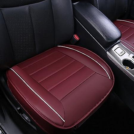 HONCENMAX Funda de Asiento para Autom/óvil Amortiguar Almohadilla Estera Protector para Suministros de Autom/óviles para Sed/án Hatchback SUV 3D Borde de Envoltura Cubierta de Protecci/ón