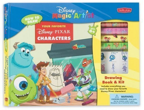 Your Favorite Disney - PIXAR Characters Kit (DMA Drawing Book & Kit) by Walter Foster (2005-01-01) PDF