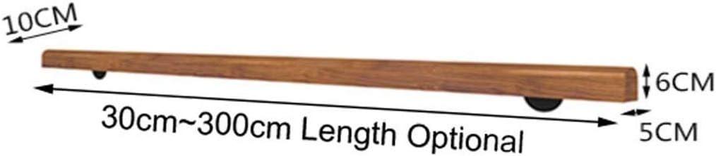Size : 30cm 30cm-300cm Anti-Rutsch-Holz Treppengel/änder Start Gegen Die Wand Indoor Loft /Ältere Gel/änder Gel/änder Korridor St/ützstange Handl/äufe f/ür Treppen Handlauf