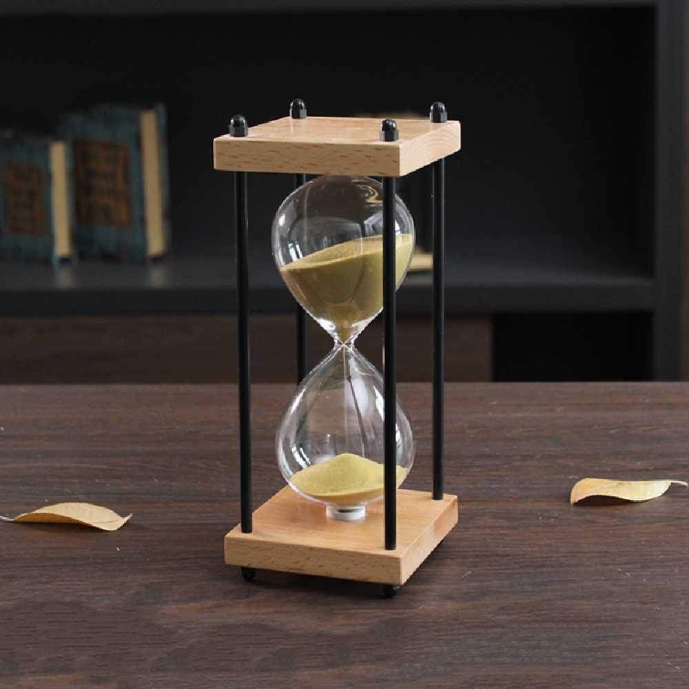 Kreative Geburtstagsgeschenke 30 Minuten//Golden meixiang Gro/ße Retro Massivholz Sanduhr Zeit Zu Hause Ornamente