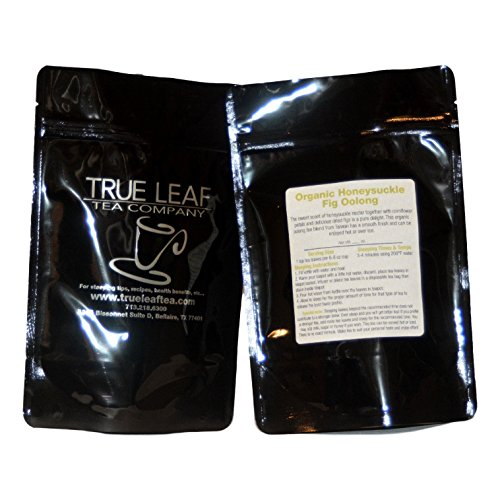 True Leaf Tea Organic Honeysuckle Fig Oolong Tea 2 OZ