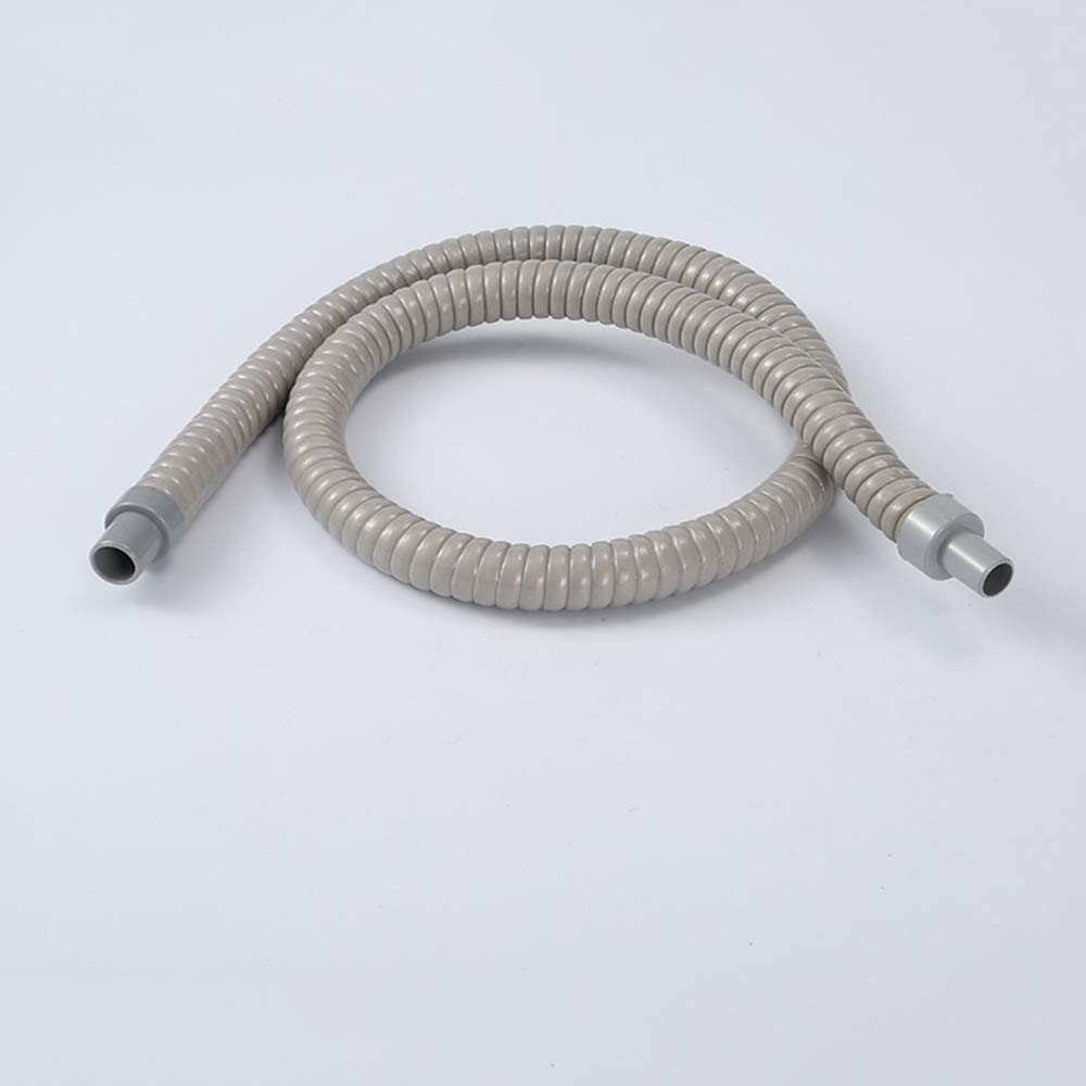 2Pcs 60cm/ 1.96Ft Length PVC Water Drain Pipe Hose for Air Conditioner