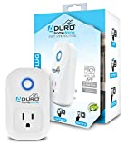 Aduro WiFi Smart Plug Outlet - App Controlled Socket, Works with Amazon Alexa Echo and Google Home Assistant, Automate with IFTTT, Built-in Timer, No Hub Required