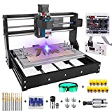 2 in 1 5500mW Engraver CNC 3018 Pro Engraving