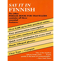 Say It in Finnish (Dover Language Guides Say It Series)