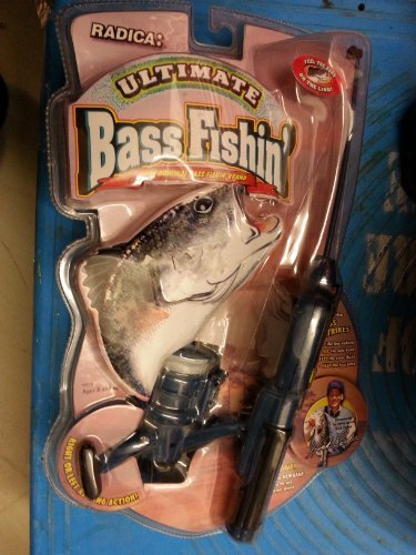 Radica Ultimate Bass Fishin' Fishing Pole Game by Radica Games