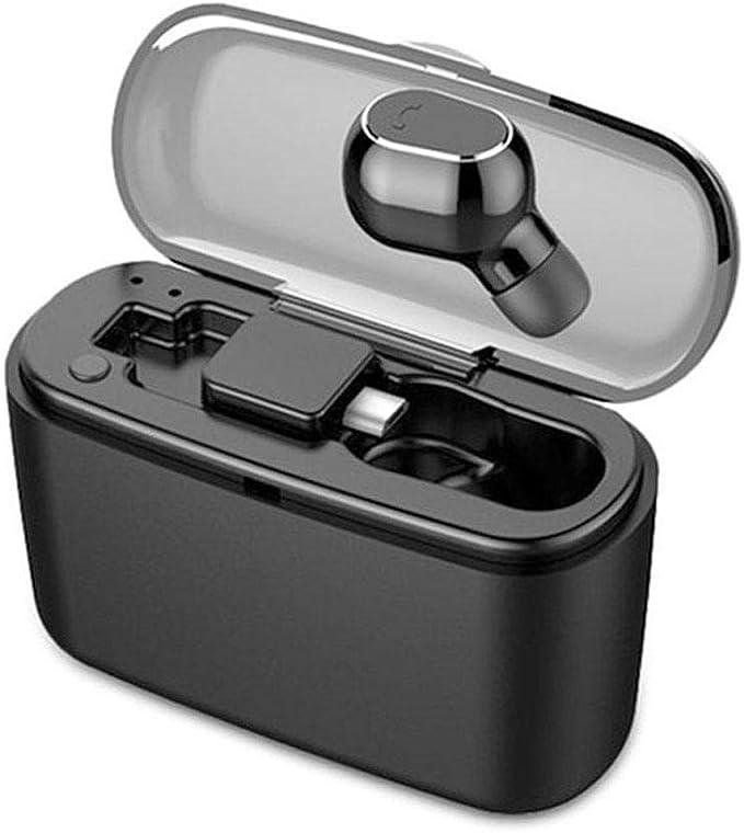 vobome Auricolare Stereo ad Alta fedelt/à Bluetooth Stereo Auricolare in-Ear Box di Ricarica Cuffie Bluetooth